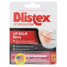 Ягодный лечебный бальзам для губ Blistex Berry Scent Lip Balm