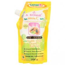 Соль для ванн Двойное отбеливание с витамином С A Bonne 350 гр