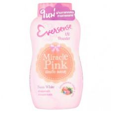 Рассыпчатая пудра для лица с УФ-фильтрами Eversense Miracle Pink 50 гр