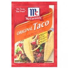 Мексиканская приправа McCormick Original Taco 35 гр
