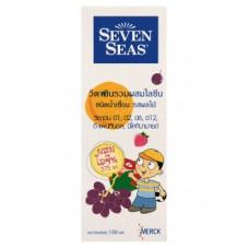 Сироп для детей мультивитаминный -  для улучшения аппетита Seven Seas 100 мл