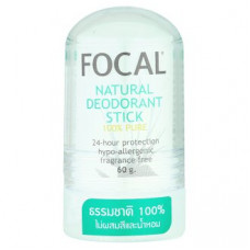Focal Natural Deodorant Stick - Дезодорант Кристал без отдушек 60 гр