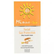 Крем для лица солнцезащитный Minus-Sun 25 гр