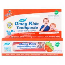 Детская зубная паста Клубника Omeg Kids Strawberry Flavor 2+ лет 40 гр