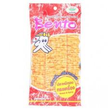 Сушеный кальмар - закуска остро-сладкая Bento 24 гр