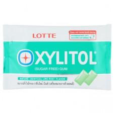 Жвачка с ксилитом Лимон и Мята Lotte Xylitol Nature 11.6 гр