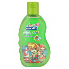 Тайский шампунь для детей от 6 лет Яблоко и Персик Kodomo 200 мл
