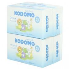 Детское мыло увлажняющее с кремом Kodomo Original with Moisturizer Baby Soap 75 гр x 4 шт
