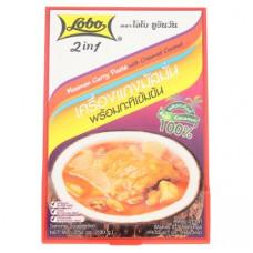 Массаман Карри тайская паста с кокосовыми сливками Lobo 100 гр