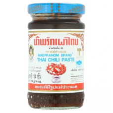 Острая тайская паста Паста Нам Прик Пао Maepranom Brand Thai Chili Paste 114 гр