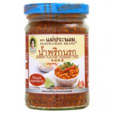Тайский соус Креветочная чили паста Mae Pranom 134 гр