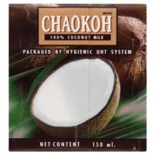 Кокосовое молоко натуральное - 100% Chaokoh 150 мл