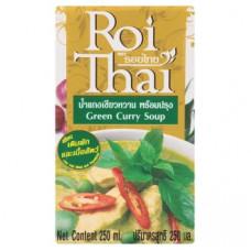 Зеленый Карри готовый тайский суп Roi Thai Green Curry Soup 250 мл