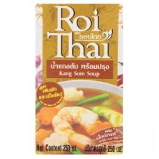 Тайский суп с морепродуктами Канг Сом Roi Thai Kang Som Soup 250 мл