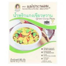Тайская паста Зеленый Карри Mae Pranom Brand 50 гр