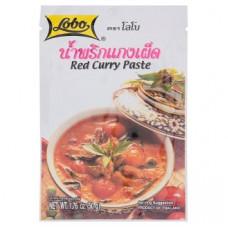 Тайская паста Красный Карри Lobo 50 гр