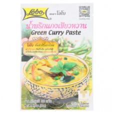 Тайская паста Зеленый Карри Lobo 50 гр