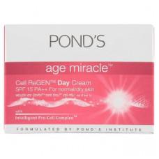 Крем антивозастной дневной с УФ-защитой 15 Pond's Age Miracle Cell Regen Facial Day Cream SPF 15 PA++ 10 гр