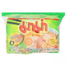 Суп-лапша со вкусом Том Ям со свининой в брикете Mama 6 шт по 60 гр