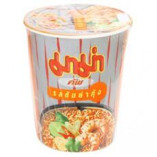 Суп-лапша со вкусом Том Ям с креветками в стакане Mama 60 гр