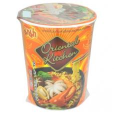 Суп-лапша острая с морепродуктами в стакане Mama 65 гр
