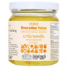 Апельсиновый джем Tesco Everyday Value 200 гр