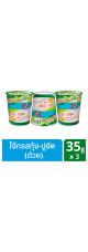 Тайская рисовая каша Кхао Том с креветками Knorr 3 стаканчика по 35 гр