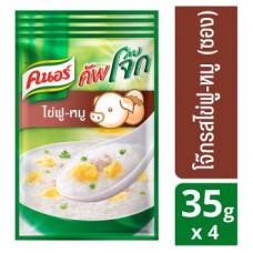 Тайская рисовая каша Кхао Том Свинина Knorr 4 пакета по 35 гр