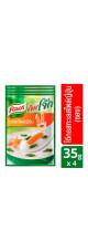 Рисовая каша тайская Кхао Том с морепродуктами Knorr 4 пакета по 35 гр