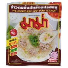 Тайский рисовый суп со свининой Mama 50 гр