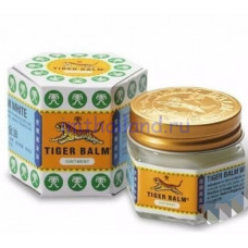 Белый тигровый бальзам из Тайланда Тайгер 19 гр