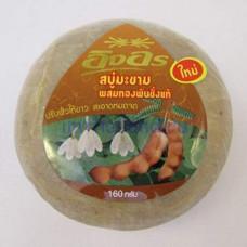 Тайское мыло из тамаринда с ринокантусом 160 гр