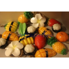 Мыло из Тайланда в виде фруктов 100 гр