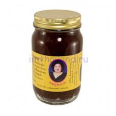 Тайский королевский черный бальзам с кунжутом 200 гр
