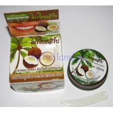Круглая зубная паста с кокосом 25 гр