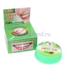 Тайская зубная паста с Мятой и Гвоздикой 25 гр