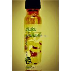 Масло от гайморита и насморка  Green Herb Oil из Тайланда 24 мл