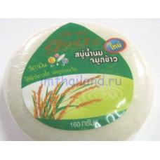 Бессульфатное мыло с рисовым или козьим молочком 160 гр