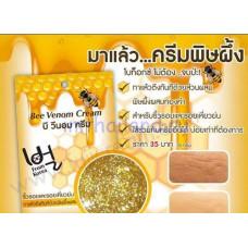 """Пчелиный крем для лица """"Маточное молочко и мед"""" Fuji 10гр"""