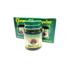 Набор тайских зеленых бальзамов Thai Herbal Wax 3 шт по 50 гр