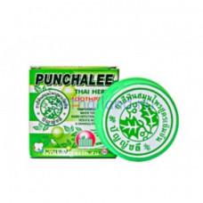 Тайская зубная паста в круглой баночке Punchalee 25 гр