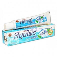 Тайская зубная паста Twin Lotus Herbal Fresh Cool (Твин Лотус) без фтора 150 гр