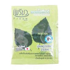 Тайское средство от пищевых отравлений Хлорофилл Preaw Chlorophyll 1 пакетик